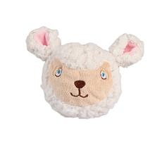 Country Critter Faballs Dog Toy - Sheep