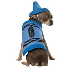 Crayola Crayon Dog Costume by Rasta Imposta - Blue
