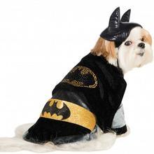 Cuddly Batman Dog Costume with Rhinestone Logo