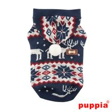 Cupid Dog Hoodie by Puppia - Navy