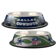 Dallas Cowboys Dog Bowl