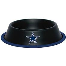 Dallas Cowboys Dog Bowl - Black