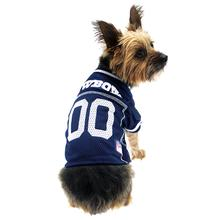 Dallas Cowboys Officially Licensed Dog Jersey - White Trim