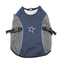 Dallas Cowboys Reflective Dog Rain Jacket