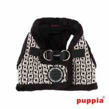 Damier Dog Harness Vest by Puppia - Black