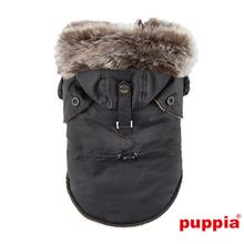 December Dog Coat By Puppia - Black