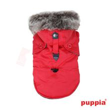 December Dog Coat By Puppia - Red