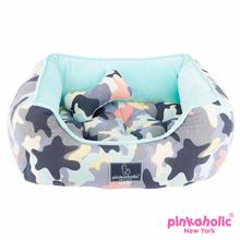 Delta House Dog Bed by Pinkaholic - Aqua