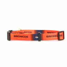 Denver Broncos Dog Collar - Orange