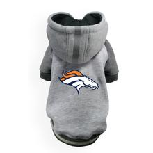 Denver Broncos NFL Dog Hoodie - Gray