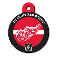 Detroit Red Wings Engravable Pet I.D. Tag