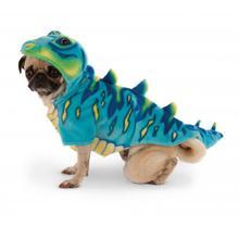 Dino Dog Hoodie Costume - Blue