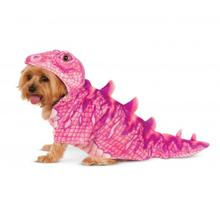 Dino Dog Hoodie Costume - Pink