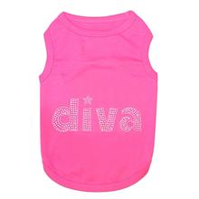 Diva Dog Tank by Parisian Pet - Pink