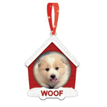 Dog House Ornament