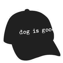 Dog is Good Human Cap - Black