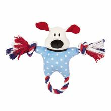 Dog is Good Patriotic Bolo Rope Tug Dog Toy