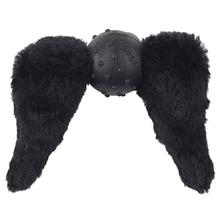 Doggles Mustache Dog Toy - Black Chops