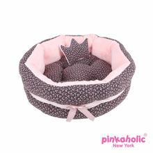Dogwood Dog Bed by Pinkaholic - Dark Gray