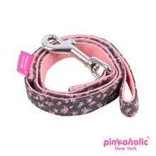 Dogwood Dog Leash by Pinkaholic - Dark Gray