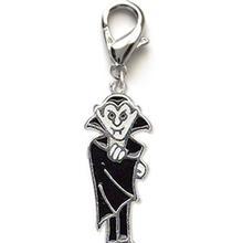 Dracula Dog Collar Charm