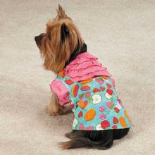 Fruit Frenzy Ruffle Dog T-Shirt