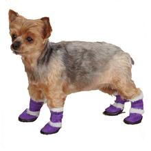 East Side Collection Sherpa Dog Boot - Ultra Violet