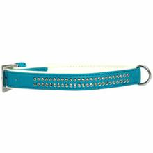Sparkle Gemstone Dog Collar - Bluebird