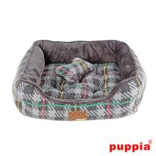 Eldric House Dog Bed by Puppia - Gray