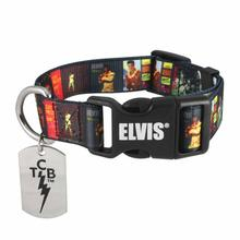 Elvis Album Cover Dog Collar