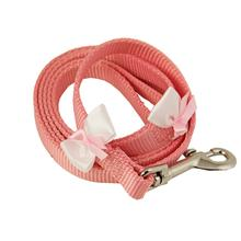 Embellished Breast Cancer Ribbon Dog Leash