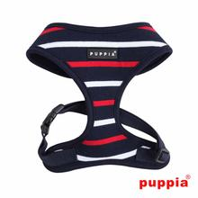 EOS Adjustable Dog Harness by Puppia - Navy