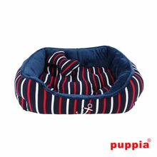 EOS Nautical Dog Bed by Puppia - Navy