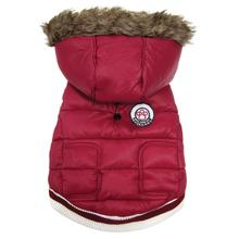 Expedition Parka Dog Coat - Red