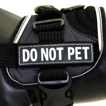 EzyDog Convert Harness Custom Side Patches - Do Not Pet