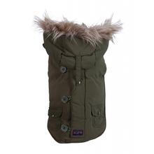 Fab Dog Snorkel Dog Jacket - Olive