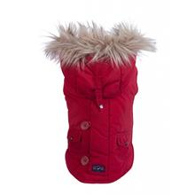Fab Dog Snorkel Dog Jacket - Red