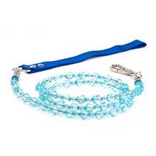 FabuLeash Beaded Dog Leash - Aqua