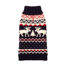 Fairisle Turtleneck Dog Sweater from Fab Dog