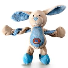 Farm Pulleez Dog Toy - Buster Blue Bunny