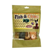 Fish and Chips Dog Treat by Aussie Naturals