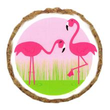 Flamingo Dog Treat Cookie