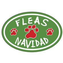 Fleas Navidad Oval Magnet