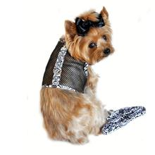 Floral Cool Mesh Dog Harness by Doggie Design
