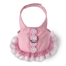 Flower Dress Harness by Doggles - Pink