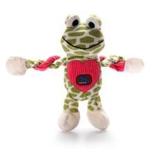 Forget-Me-Not Frog Pulleez Dog Toy
