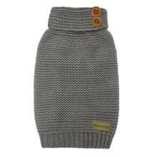 FouFou Crochet Dog Sweater - Gray