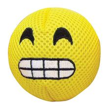 FouFou Dog Emoji Ball Dog Toy - Happy