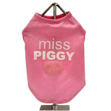 FouFou Slogan Dog Tank - Miss Piggy