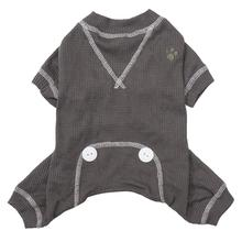 FouFou Thermal Dog Pajamas - Gray